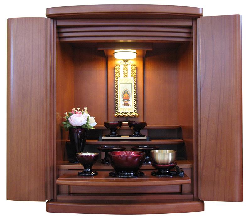 モダン仏壇 上置セット仏壇・プレイ19号・セット仏具も各種ご用意!