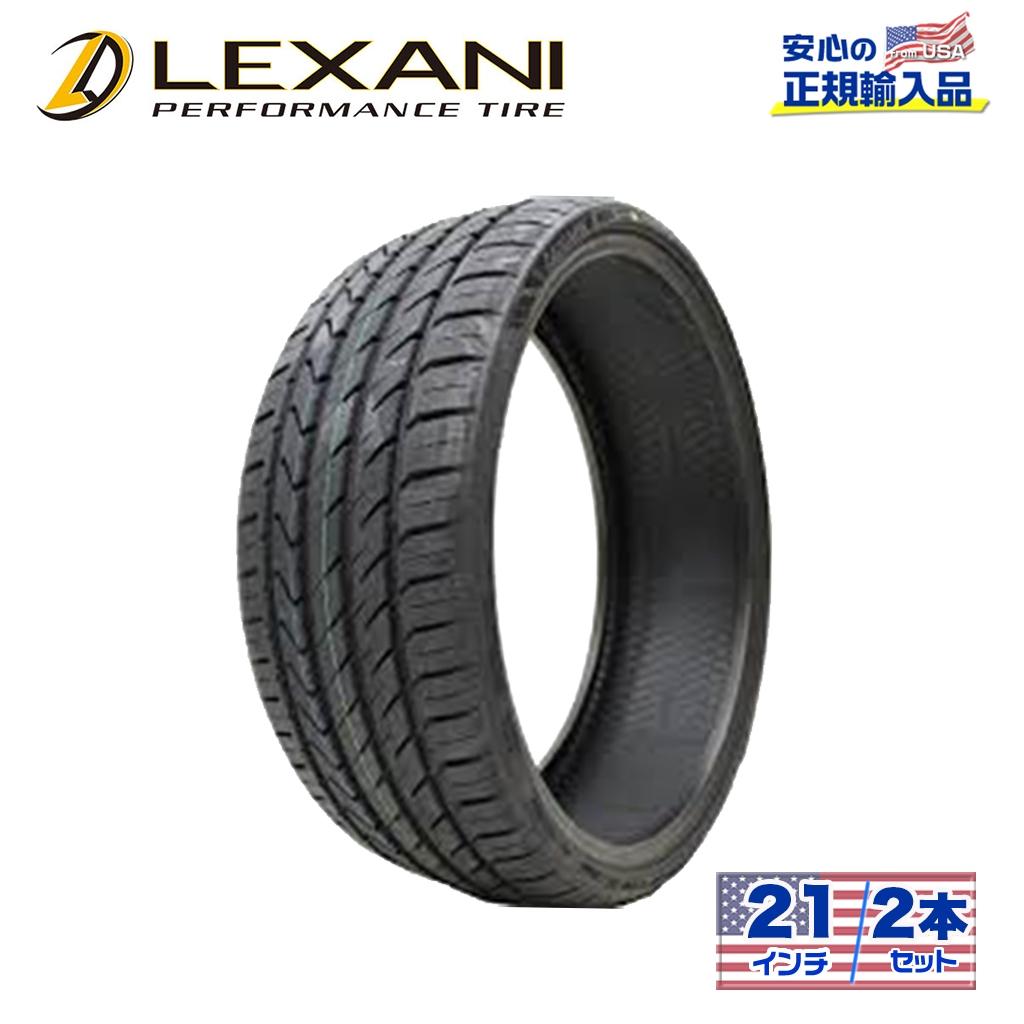 【LEXANI(レクサーニ)正規品】21インチタイヤ 2本LXーTWENTY285/30R21ラジアル