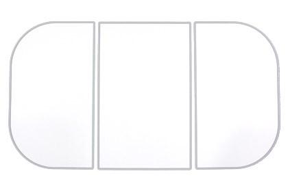 ノーリツ NORITZ【0CAM005】ふろふた(FA1675G- WH) クラブノーリツ[新品]