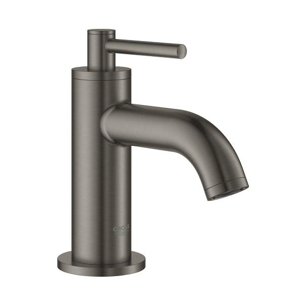【直送商品】GROHE[グローエ] 洗面用水栓 【20 021 ALJ3】 アトリオ 単水栓(ブラッシュドハードグラファイト) GROHE SPA COLLECTIONS [新品]【NP後払い不可】