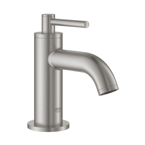 【直送商品】GROHE[グローエ] 洗面用水栓 【20 021 DCJ3】 アトリオ 単水栓(スーパースチール) GROHE SPA COLLECTIONS [新品]【NP後払い不可】