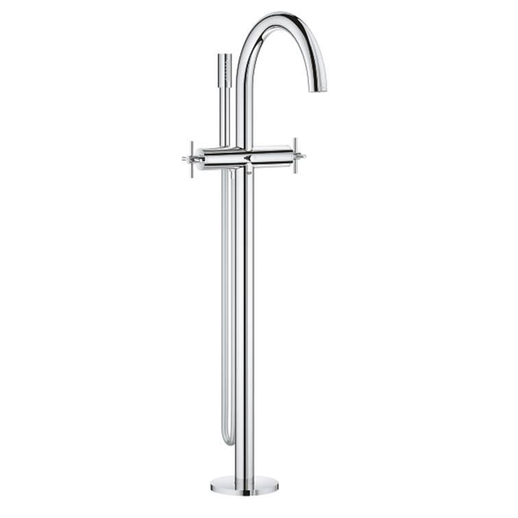 【直送商品】GROHE[グローエ] 浴室用水栓 【25 044 30J】 アトリオ 2ハンドルバス・シャワー混合栓 [新品]【NP後払い不可】