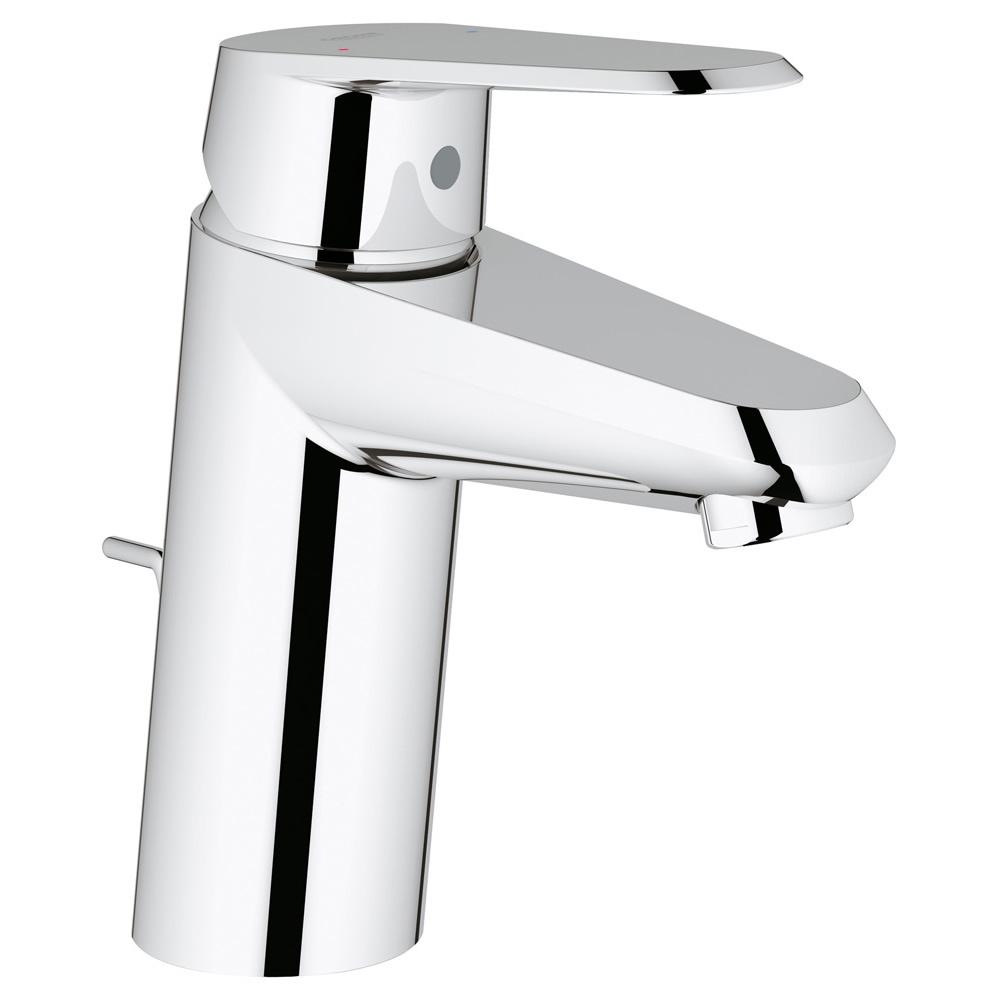 【直送商品】GROHE[グローエ] 洗面用水栓 【33 018 00J】 ユーロディスクコスモポリタン シングルレバー洗面混合栓(引棒付) [新品]【NP後払い不可】