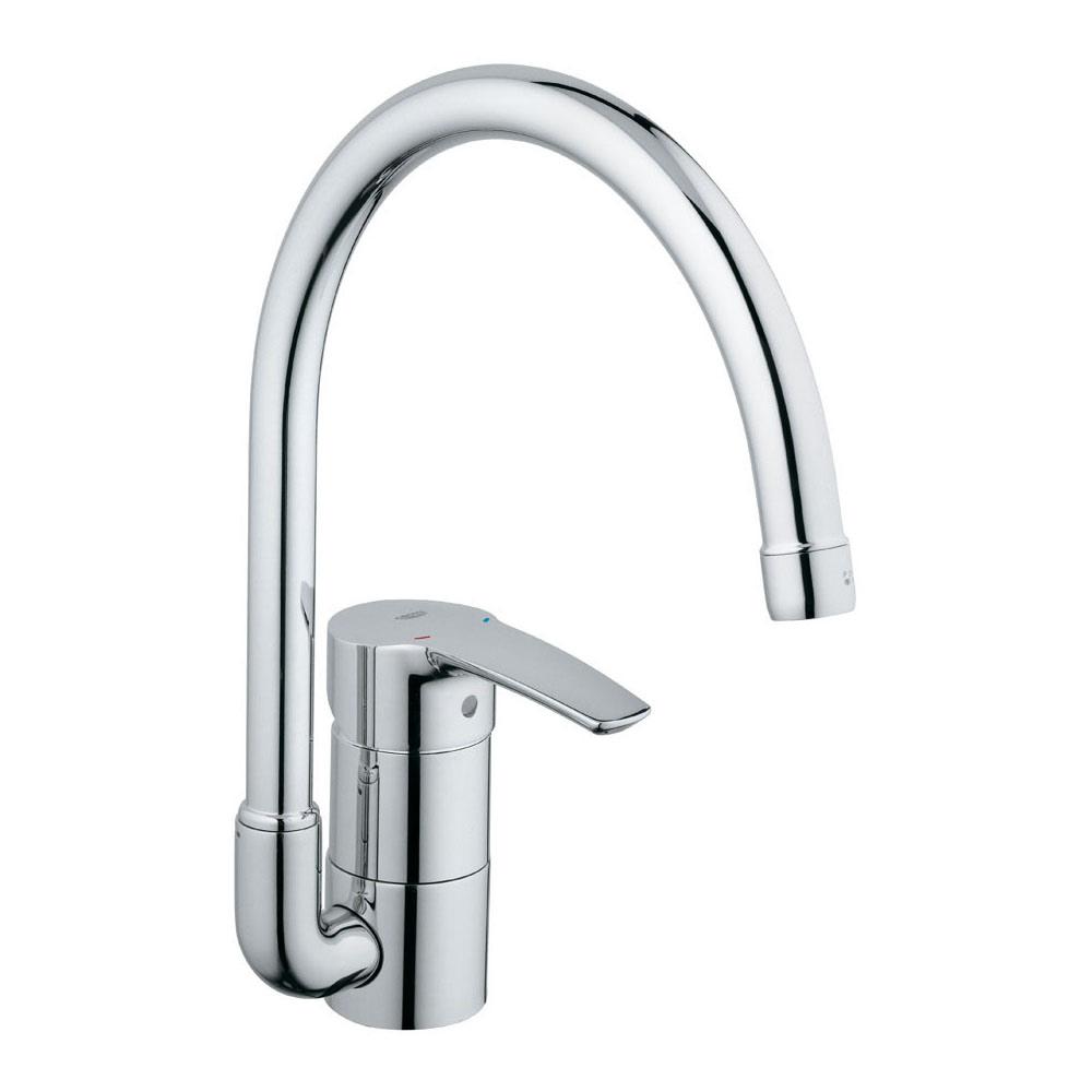 【直送商品】GROHE[グローエ] キッチン用水栓 【JP 2057 01】 ユーロスタイル シングルレバーキッチン混合栓 [新品]【NP後払い不可】