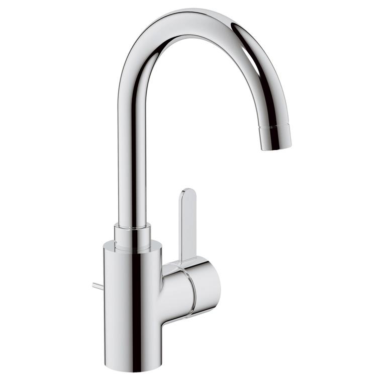 【直送商品】GROHE[グローエ] 洗面用水栓 【JP 3350 04】 ユーロスマートコスモポリタン シングルレバー洗面混合栓(引棒付) [新品]【NP後払い不可】