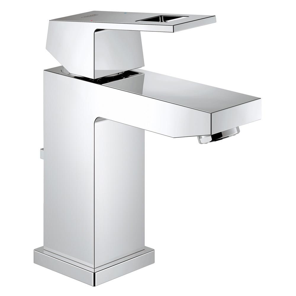 【直送商品】GROHE[グローエ] 洗面用水栓 【JP 3395 01】 ユーロキューブ シングルレバー洗面混合栓(引棒付) [新品]【NP後払い不可】