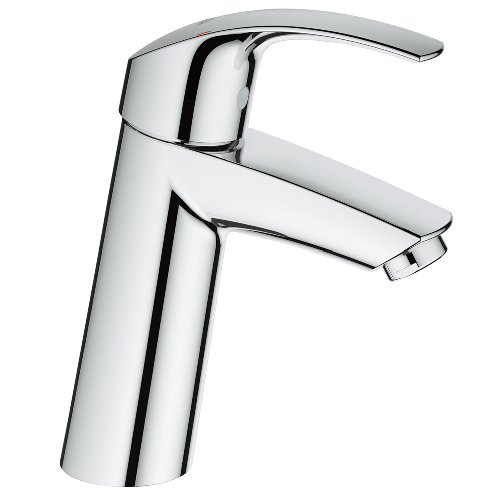 【直送商品】GROHE[グローエ] 洗面用水栓 【JP 3654 01】 ユーロスマート シングルレバー洗面混合栓(引棒なし) [新品]【NP後払い不可】