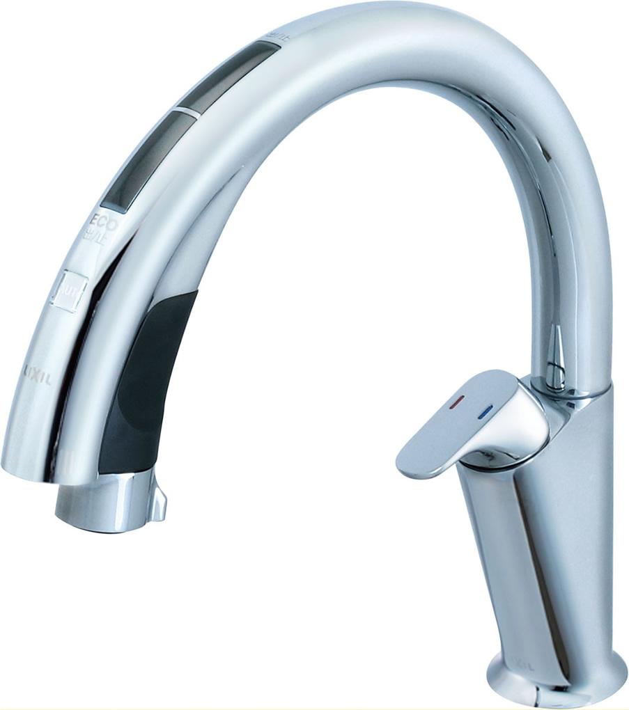 INAX・LIXIL キッチン用水栓金具 【JF-NA411S(JW)】 キッチン用タッチレス水栓 ナビッシュハンズフリー(浄水器ビルトイン型) 【JFNA411SJW】 [新品]