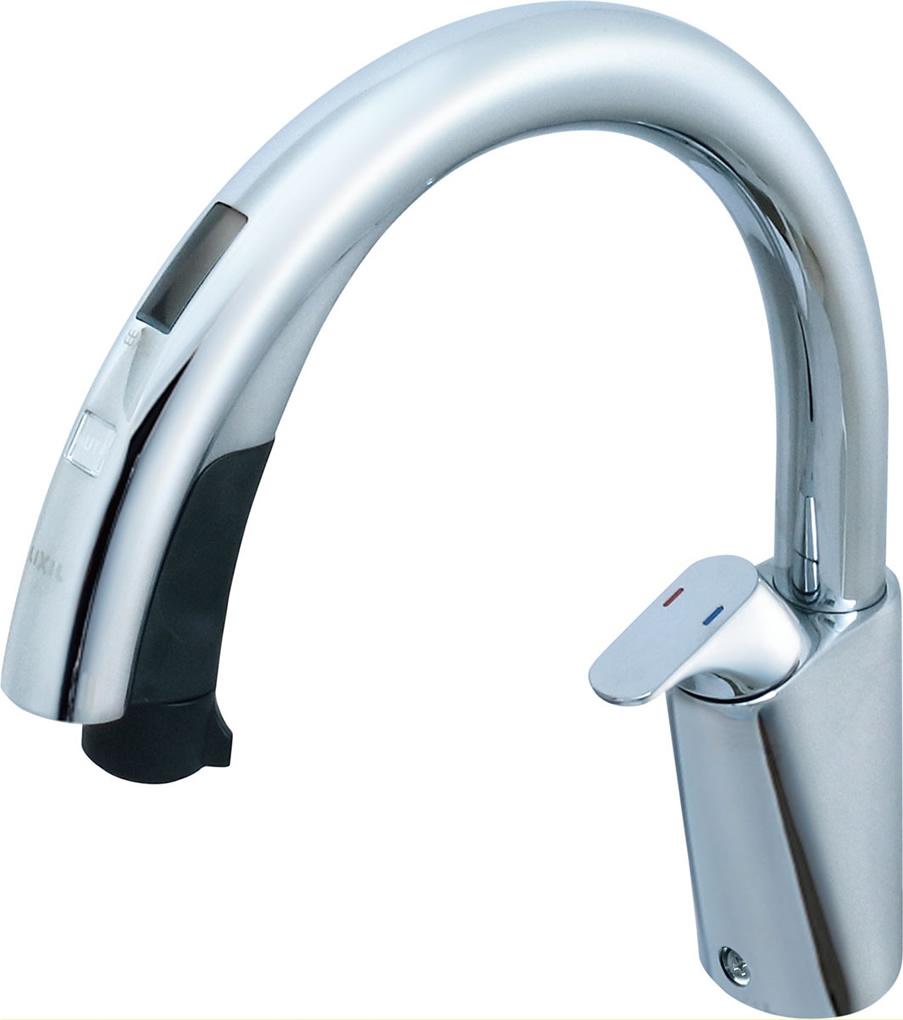 激安特価  INAX・LIXIL キッチン用水栓金具 【SF-NB481SXN】 キッチン用タッチレス水栓 ナビッシュハンズフリー [寒冷地対応] 【SFNB481SXN】 [新品], ブドウショップ ec4925a4