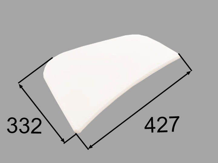 INAX・LIXIL 浴室部品 クッション【CCB-4-R/W】ホワイト 浴室レスト・クッション品 [新品]