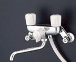 浴室用2ハンドルシャワー水栓 TOTO TMS20C 一時止水付 INAX LIXIL・リクシル同等品:BF-615H-G[蛇口][新品]