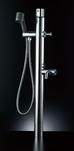 ペットも大満足!お湯が使える混合水栓仕様 【LF-932SG】 INAX LIXIL・リクシル ペット用水栓柱 キー式ハンドル付 湯側開度規制なし[新品]