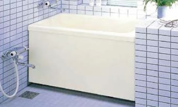 INAX LIXIL・リクシル 浴槽 ポリエック 1,100サイズ 和洋折衷タイプ 1方全エプロン【PB-1102AL/L11-J2】(公団用)(エプロン着脱式) 左排水【メーカー直送のみ・代引き不可・NP後払い不可】[新品]