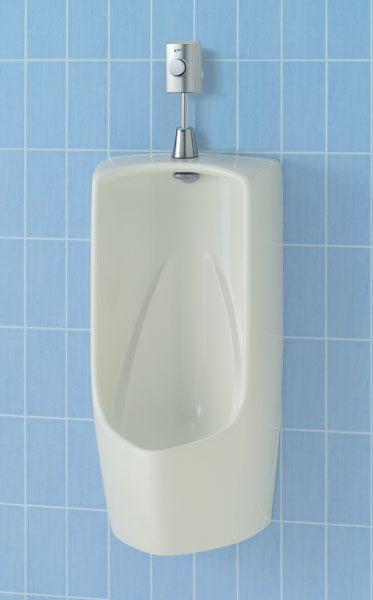 【直送商品】U-411R INAX LIXIL・リクシル トラップ付大形壁掛ストール小便器 壁排水 フラッシュバルブ フランジ(塩ビ排水管用)[新品]【代引き不可・NP後払い不可】