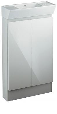 カクダイ 角型手洗器(キャビネットつき)【200-311】【200311】[新品]