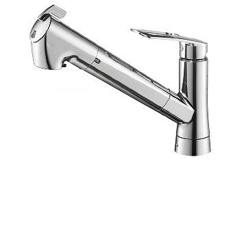 三栄水栓[SANEI]【K87128ETJK-13】シングル浄水器付ワンホールスプレー混合栓[新品]