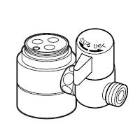ナニワ製作所 分岐水栓 【NSJ-SEA7】 対応メーカー:SAN-EI 三栄 【NSJSEA7】[新品]