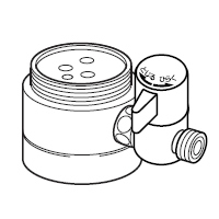 ナニワ製作所 分岐水栓 【NSJ-SJB7】 対応メーカー:Janis 【NSJSJB7】[新品]