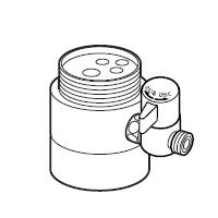 ナニワ製作所 分岐水栓 【NSJ-SSA7】 対応メーカー:TOTO 【NSJSSA7】[新品]【RCP】