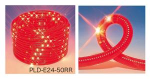 ジェフコム LEDピカライン(ローボルト24V) 【PLD-E24-20RR】 JEFCOM>照明器具>注意喚起点滅灯>注意喚起点滅灯 [新品]