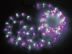ジェフコム LEDフトネオン(75mmピッチ)シリーズ 【PR3L-E24-16PW】 JEFCOM>照明器具>装飾用点滅灯>ロッド点滅灯(LED)75mmピッチ [新品]
