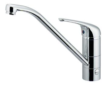 カクダイ 水栓材料 シングルレバー混合栓(分水孔つき)【117-031K】[新品]
