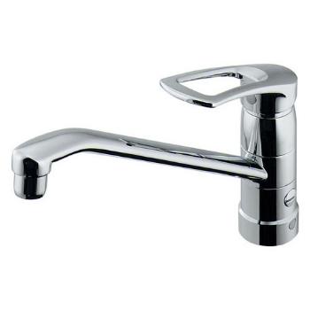 カクダイ 水栓材料 シングルレバー混合栓(分水孔つき)【117-061K】[新品]