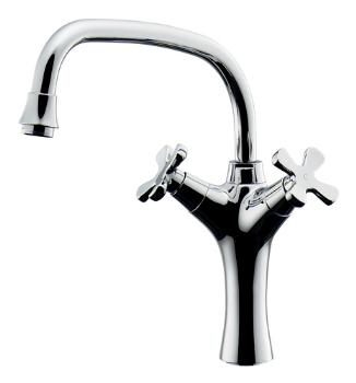 カクダイ 水栓材料 2ハンドル混合栓【150-420】[新品]