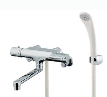 カクダイ 水栓材料 サーモスタットシャワ混合栓【173-061K-220】[新品]