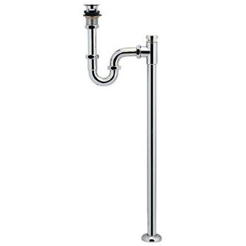 カクダイ 水栓材料 低位通気弁つきSトラップ(オーバーフロー付洗面器用)【423-812-32】[新品]