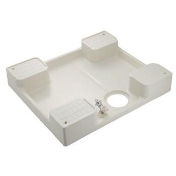 カクダイ 水栓材料 洗濯機用防水パン(水栓つき)【426-502K】[新品]