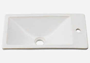 カクダイ 水栓材料 角型手洗器//月白【493-010-W】[新品]