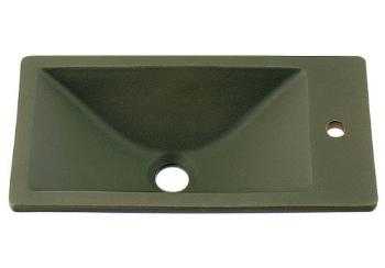 カクダイ 水栓材料 角型手洗器//松葉【493-010-YG】[新品]