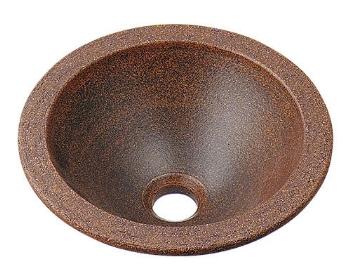 カクダイ 水栓材料 丸型手洗器//窯肌【493-013-M】[新品]