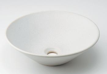 カクダイ 水栓材料 丸型手洗器//月白【493-037-W】[新品]