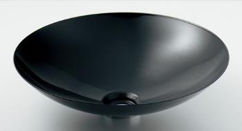 待望 ☆カクダイ 当店は最高な サービスを提供します 水栓材料 丸型洗面器 ブラック カクダイ 新品 493-045-D ☆