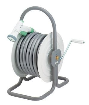 カクダイ 水栓材料 ホースドラム(ホースつき)【554-503】[新品]