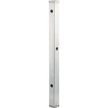 カクダイ 水栓材料 ステンレス水栓柱(分水孔つき)//60角【624-114】[新品]