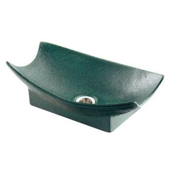 カクダイ 水栓材料 舟型手水鉢(濃茶)【624-934】[新品]