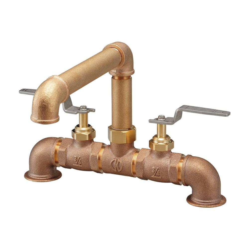 カクダイ[KAKUDAI] 【151-014】 厨房用2ハンドル混合栓 水栓金具