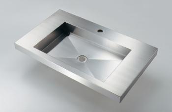 カクダイ 角型洗面器【493-163】[新品]