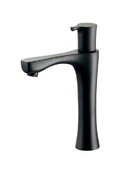 カクダイ 立水栓(ミドル) マットブラック 受注生産品【716-851-D】[新品]