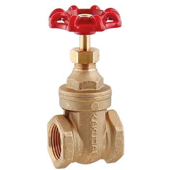 カクダイ 水栓材料 ゲートバルブ【654-001-100】[新品]