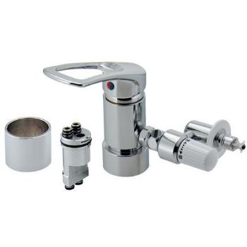 カクダイ 水栓材料 ワンホール用分岐金具(KVK用セット)【789-702-KV3】[新品]【NP後払いOK】