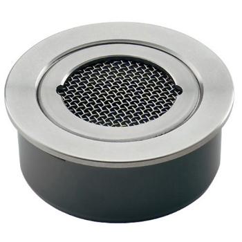 カクダイ 水栓材料 VP・VU兼用ステンレス防虫目皿(接着式)【4247-125】[新品]