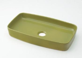 カクダイ 角型手洗器//ピスタチオ 【493-073-GR】[新品]