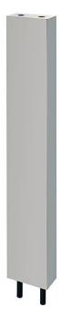 カクダイ 厨房用ステンレス水栓柱(立形水栓用)//13 【624-610S-120】[新品]