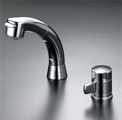 KVK サーモスタット式洗髪シャワー 【KF125G2N】KF125 series シャワー引出しタイプ/サーモスタットシャワー【KF125G2N】[新品]