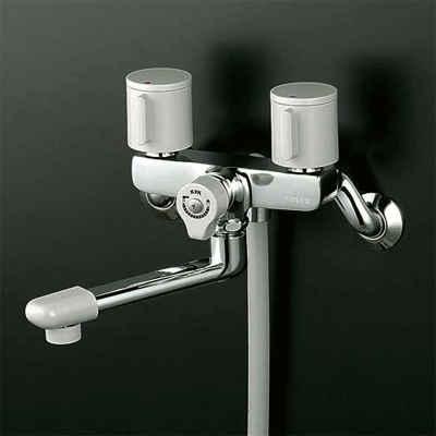 ☆KVK 浴室用水栓 KF140G3R24 ☆ KVK 新品 240パイプ付 2ハンドルシャワー 待望 上等 NP後払いOK