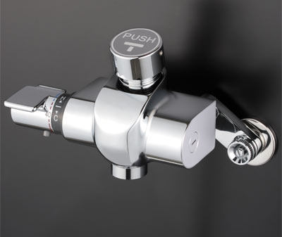 KVK 自閉式サーモスタット式混合栓 吐水口専用タイプ【KM3040】[新品]【NP後払いOK】